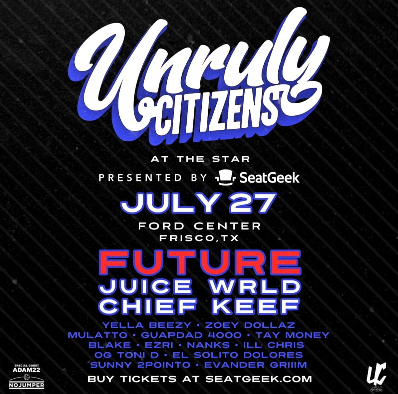 ROAD TRIP TO TEXAS FOR UNRULY CITIZENS MUSIC FEST!!