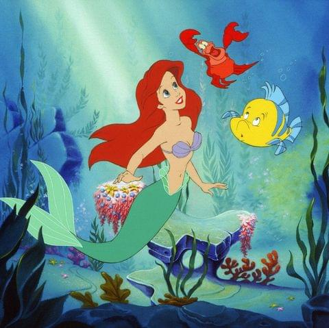 """Live-Action of """"The Little Mermaid"""" in The Works!"""