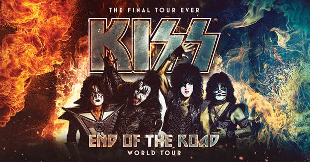 KISS 'End of the Road' Tour Coming to OKC