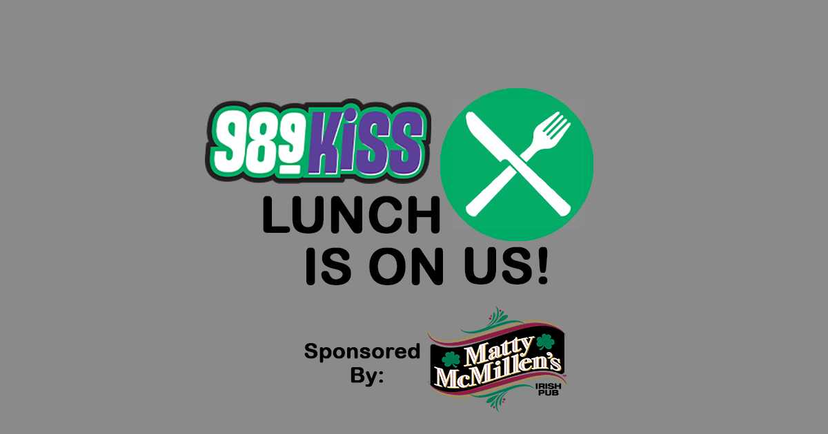 Enter To Win Lunch On Us!