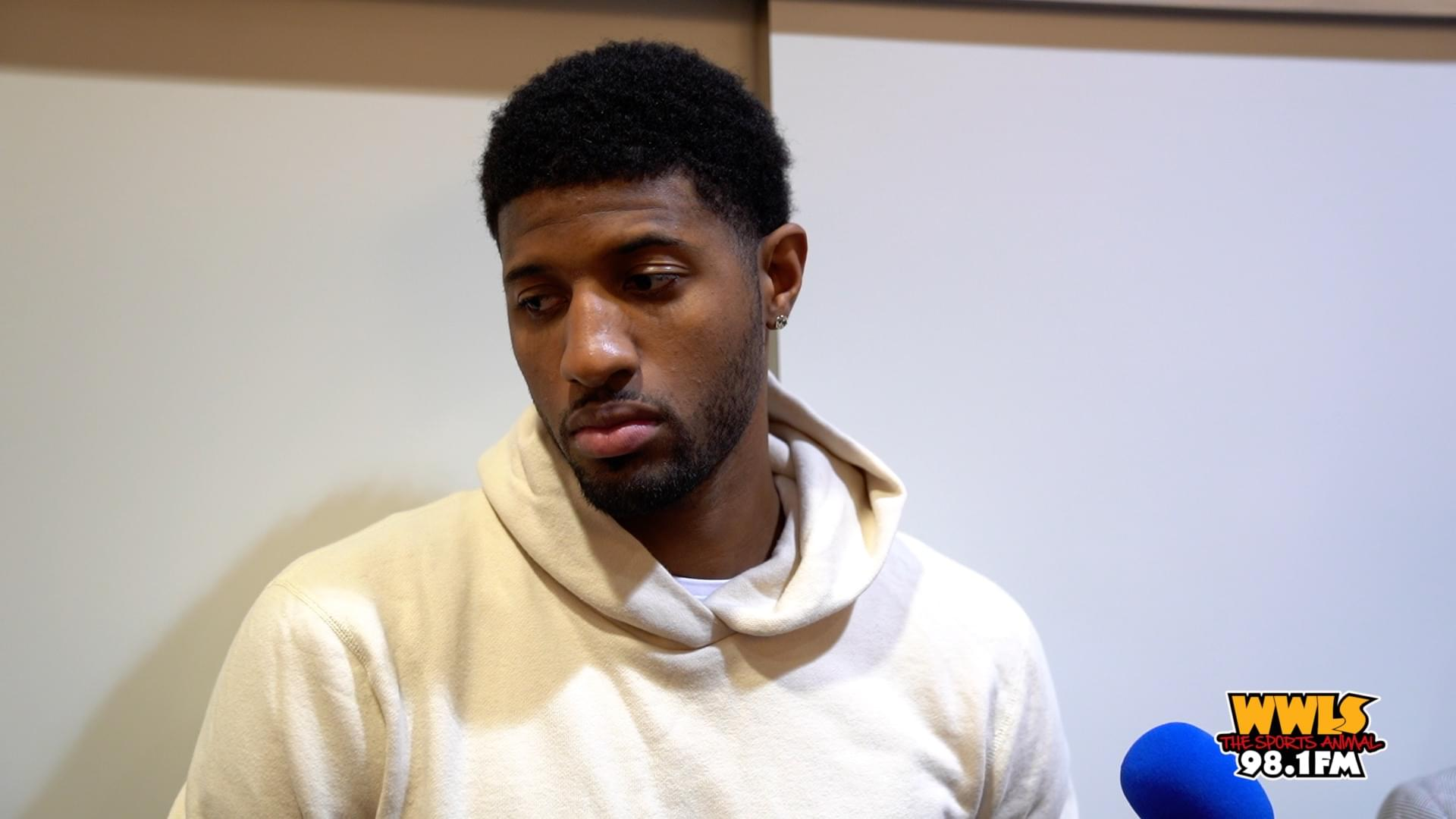 Paul George Comments on Win Over Knicks