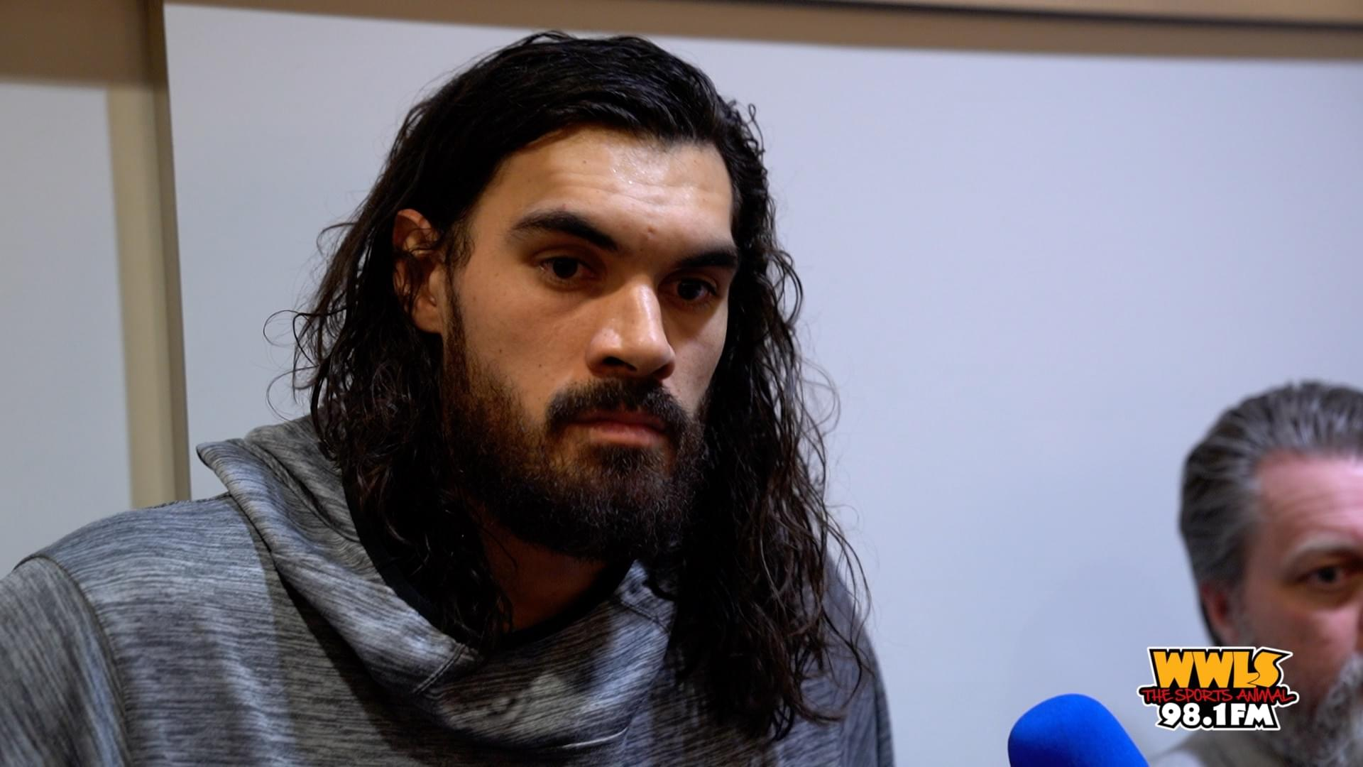 [WATCH] Steven Adams Discusses Win Over Knicks