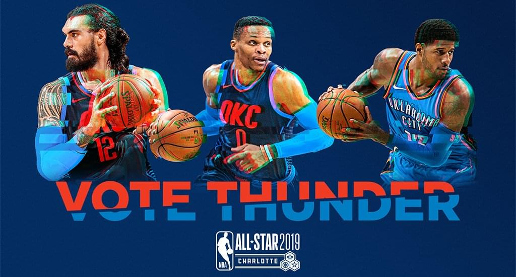 Vote For Your OKC Thunder All-Star!