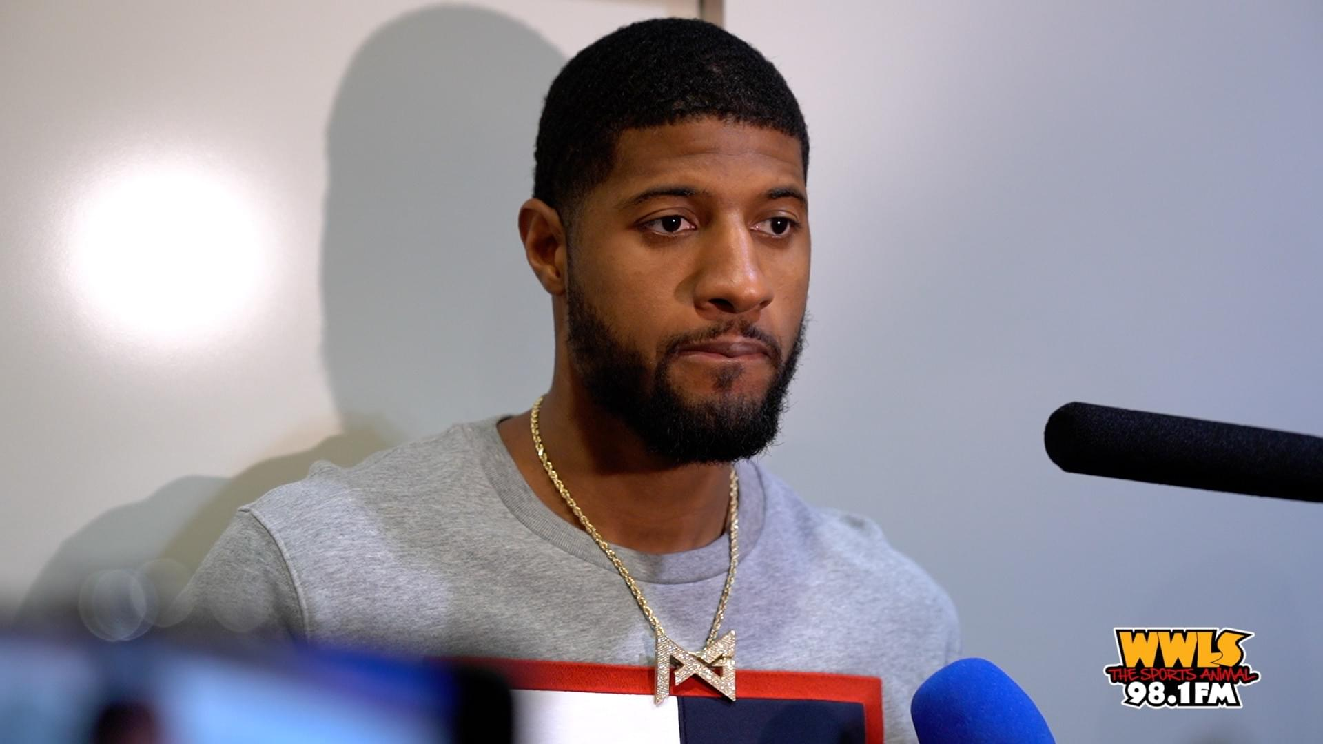 [VIDEO] Paul George Discusses Loss to Golden State