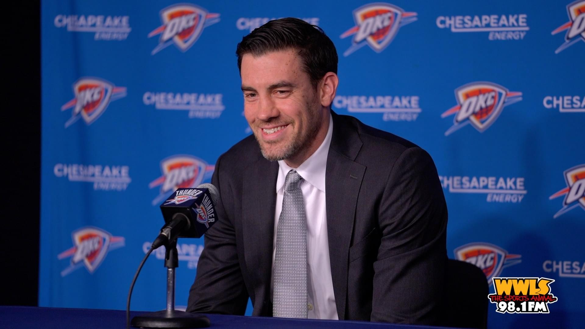 Nick Collison Jersey Retirement Press Conference