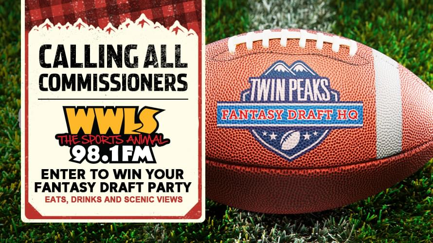 Enter To Win A Twin Peaks Fantasy Draft Party!