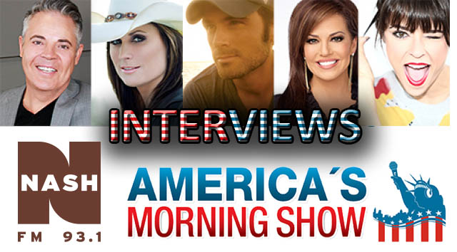 America's Morning Show – Interviews