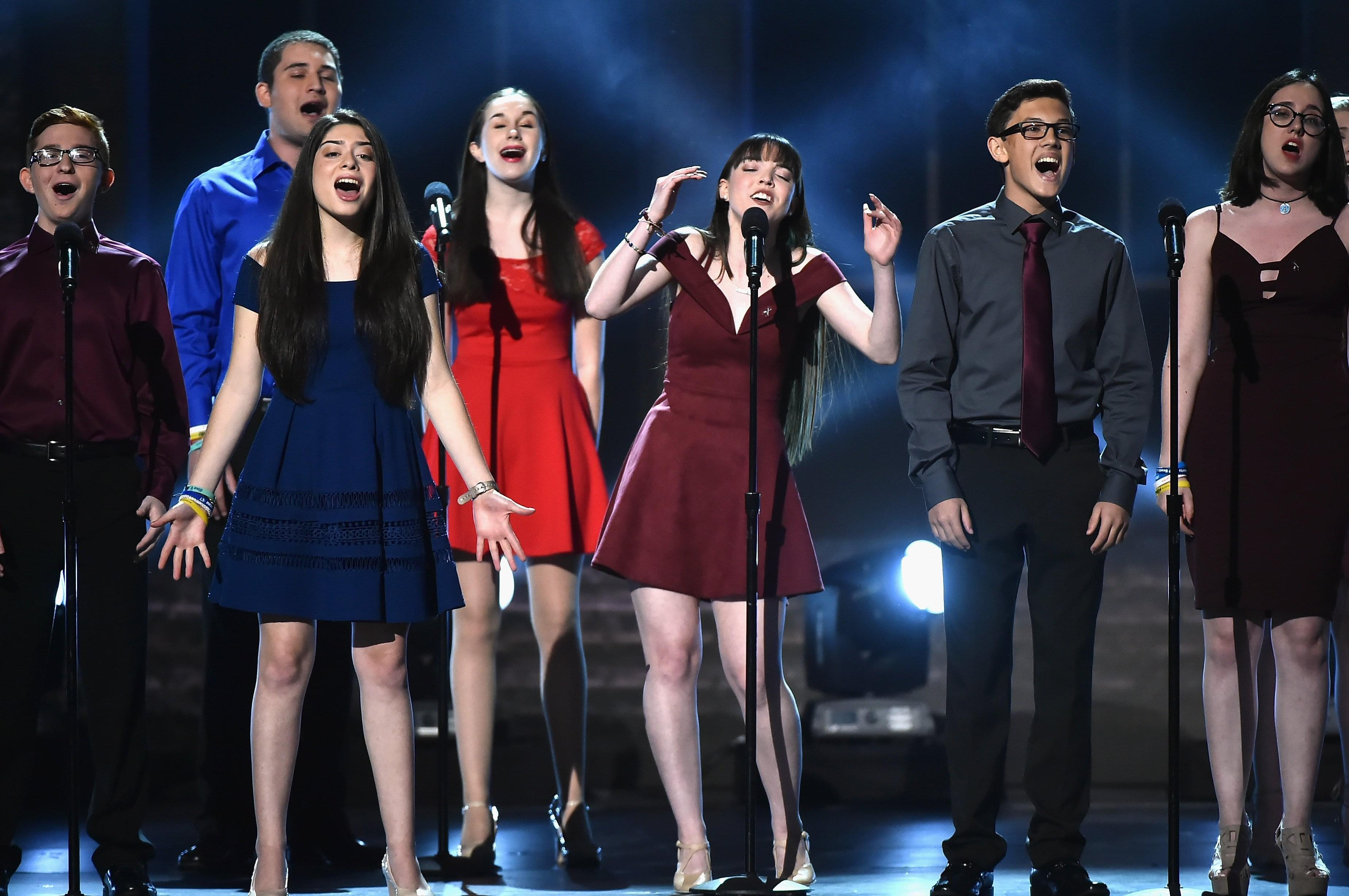 MARJORY STONEMAN DOUGLAS STUDENTS SING 'SEASONS OF LOVE' IN EMOTIONAL PERFORMANCE AT TONY AWARDS