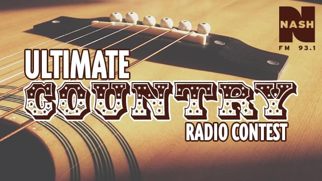Ultimate Country Radio Contest