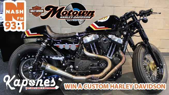 Want to win a Harley for the Holidays?