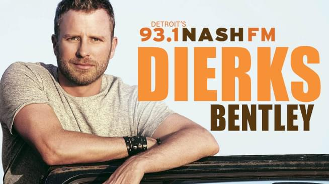 Win Your Dierks Tickets and Backstage Passes!