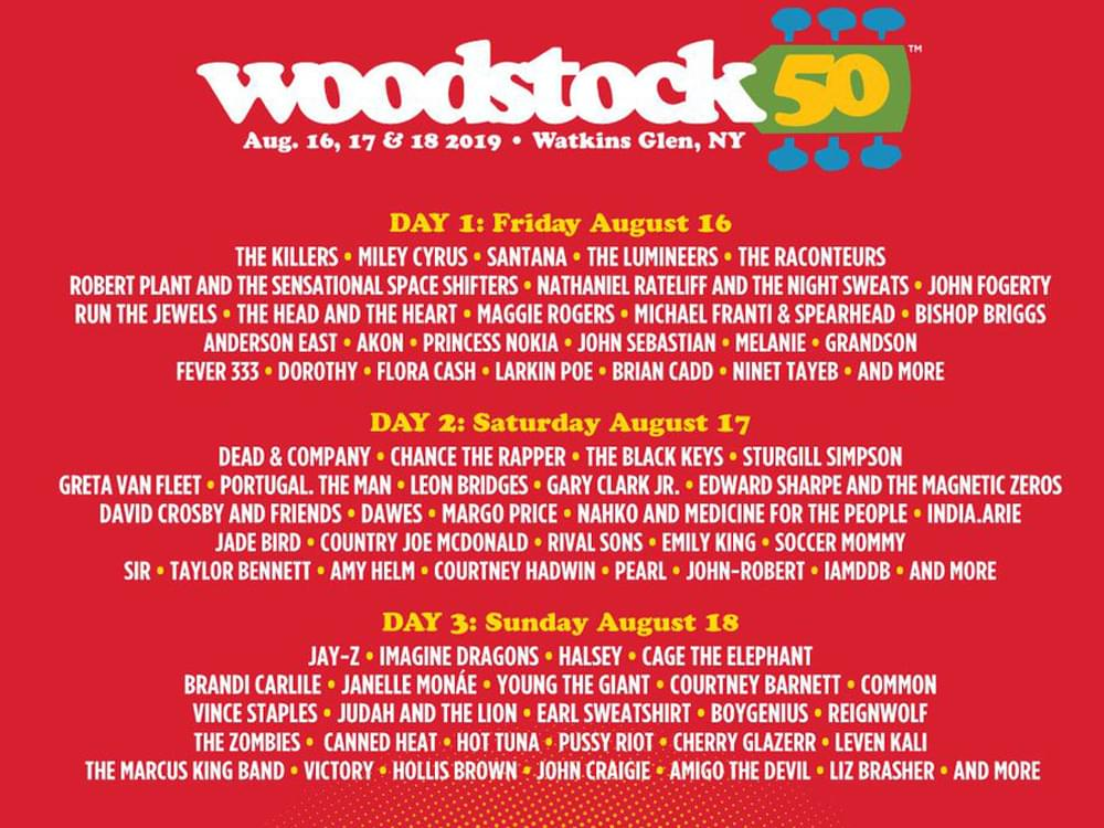 The Woodstock 50 Festival Has Been Canceled After Ongoing Logistical Problems