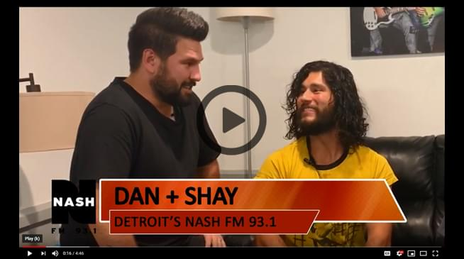 Backstage with Dan + Shay