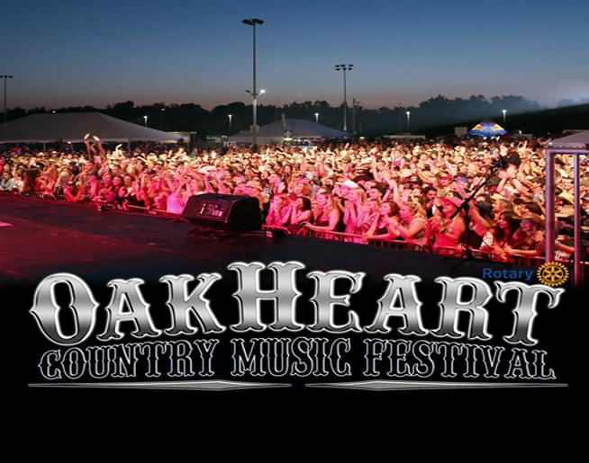 OakHeart Country Music Festival 2018!