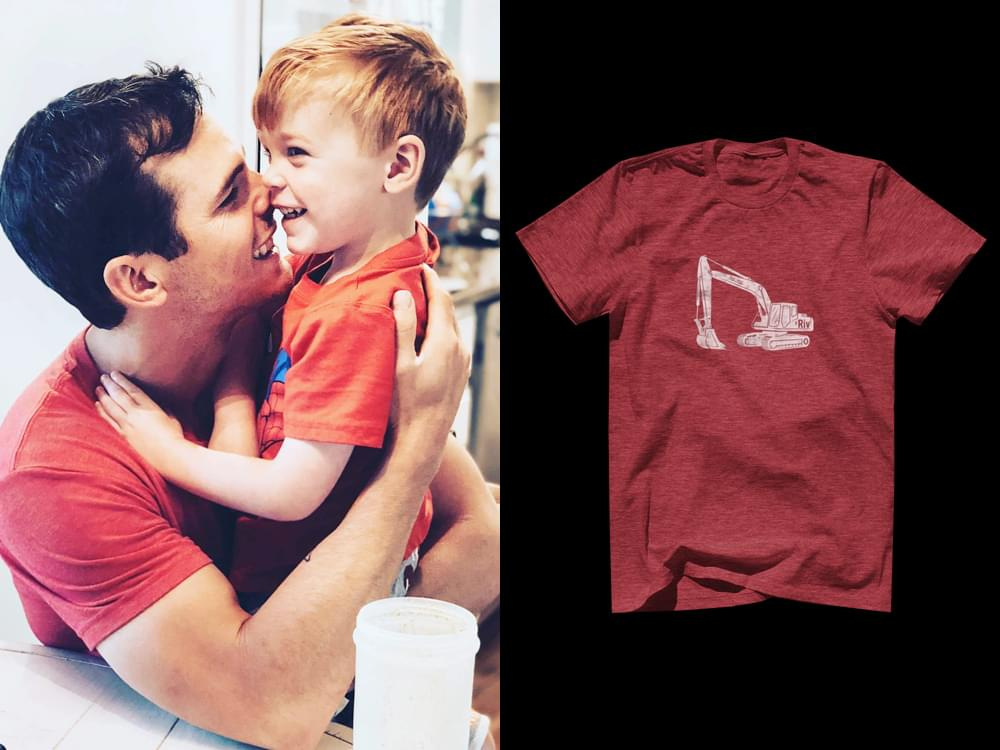 Tribute Shirt in Honor of Granger Smith's Late Son to Benefit Texas Hospital