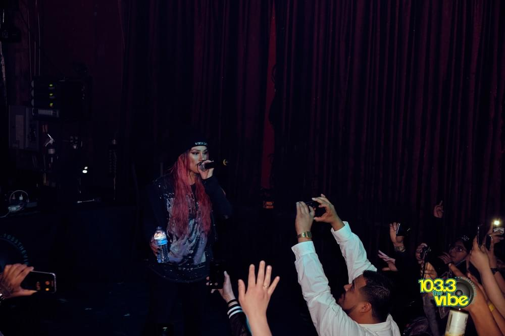 Snow Tha Product Photos at Velvet Jones Santa Barbara