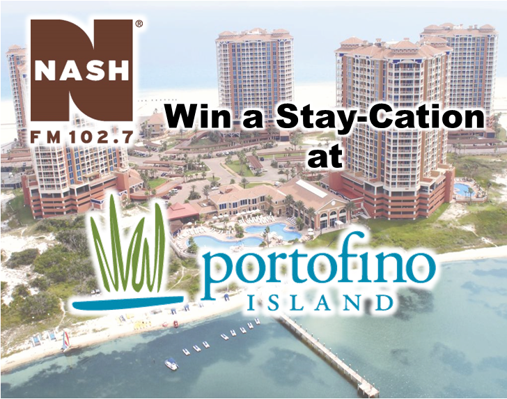 Win a Stay-Cation at the Portofino Island Resort!