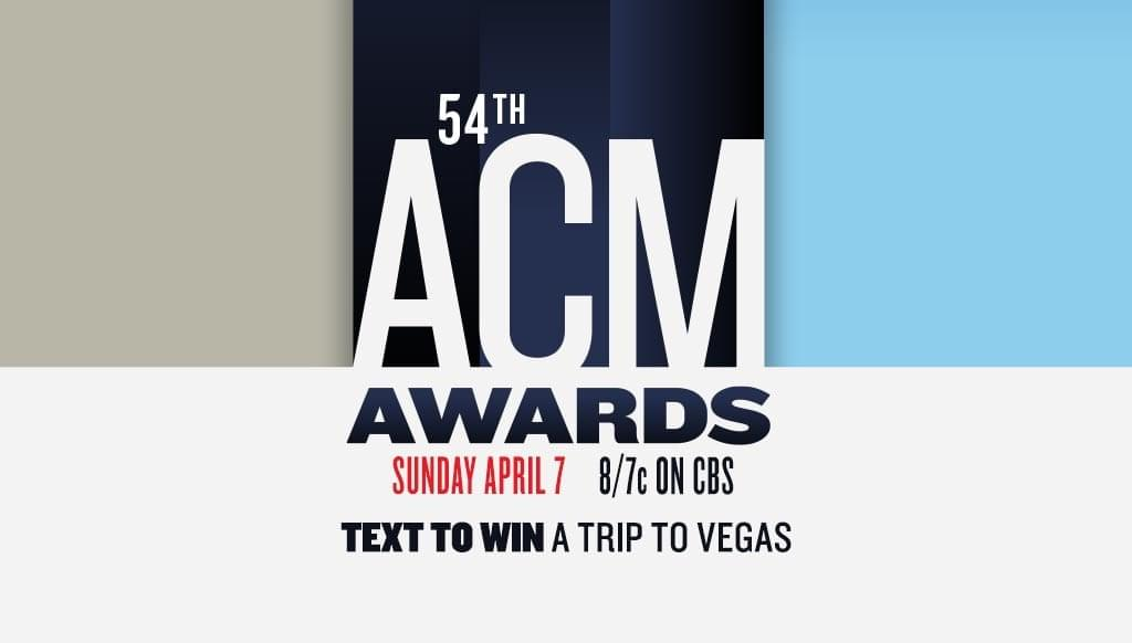 Win a trip to the 54th ACM Awards