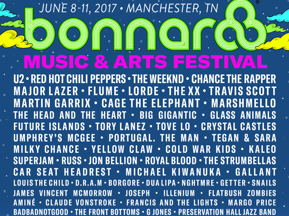 2017 Bonnaroo Lineup Includes Country Trifecta, Tickets On Sale Now