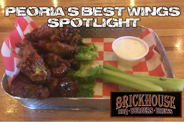 Peoria's Best Wings: Brickhouse BBQ, Burgers & Brews