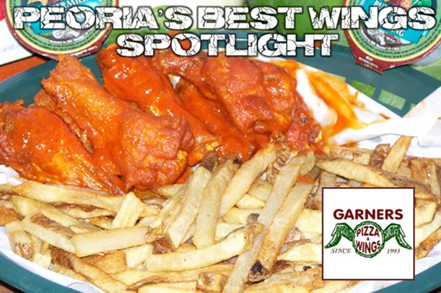 Peoria's Best Wings Spotlight: Garners Pizza & Wings