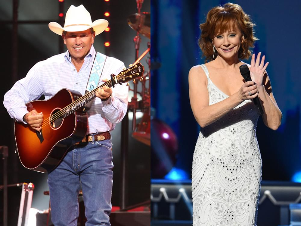 Acm Awards To Feature Performances By George Strait Reba