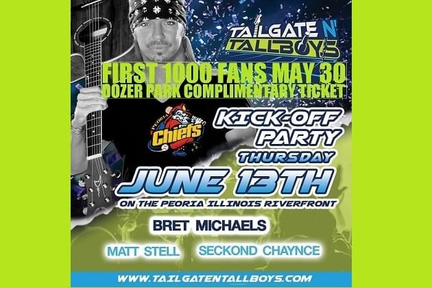First 1000 Chiefs Fans Grab Free Tailgate N Tallboys Tickets May 30!