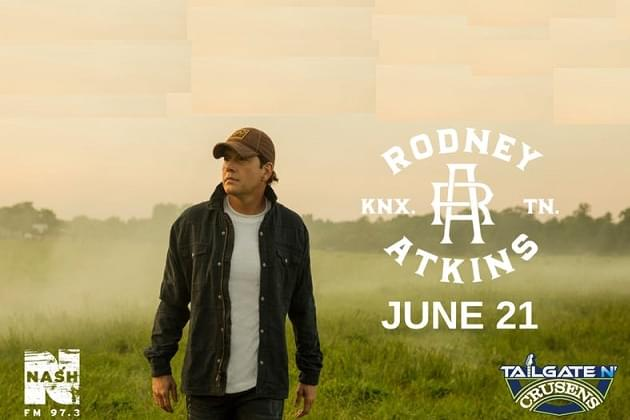Rodney Atkins Caught Up In The Country This Friday At Crusens LIVE In Concert