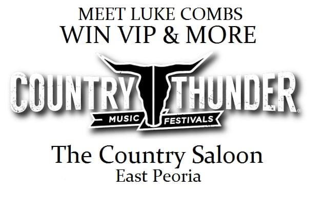 The Country Saloon Has Your Chance To Sit Stageside With Luke Combs