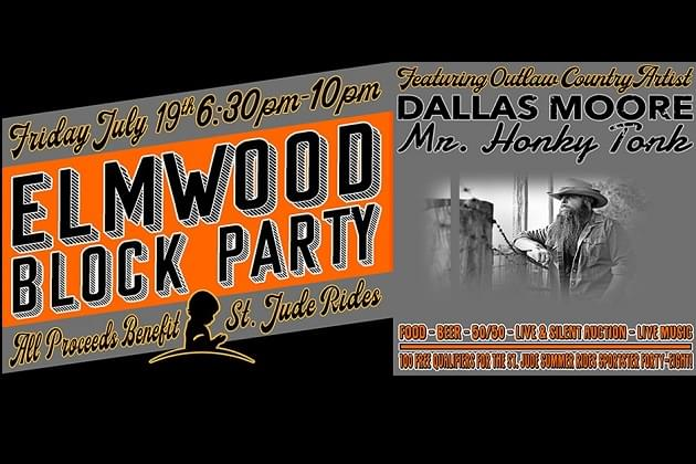 This Friday Night, The Block Party Returns To Elmwood