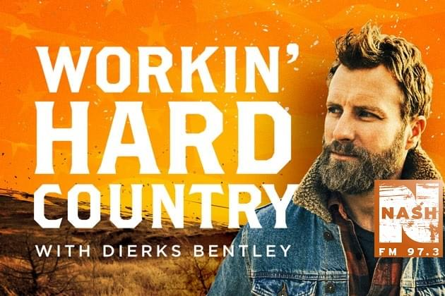 Dierks Bentley Works Hard This Weekend On 973 Nash FM