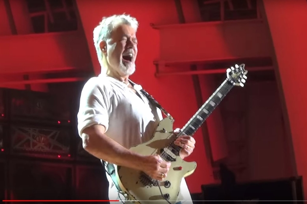 Eddie Van Halen Sues Over Shot Video Footage