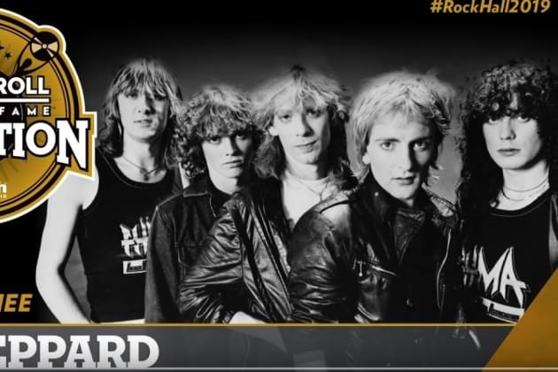 Def Leppard Should Win Rock And Roll Hall Of Fame Fan Vote For 2019 Class [VIDEO]