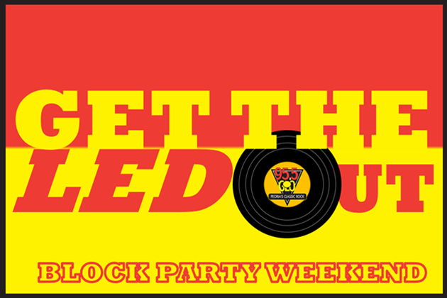 Celebrating 50 Years Of Led Zeppelin With GTLO Block Party Weekend [VIDEO]