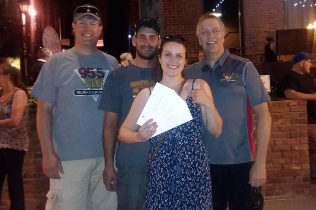 Kelsey Riggs Of Bloomington Wins Bud Light Mt. Rockmore Contest At Kellehers!