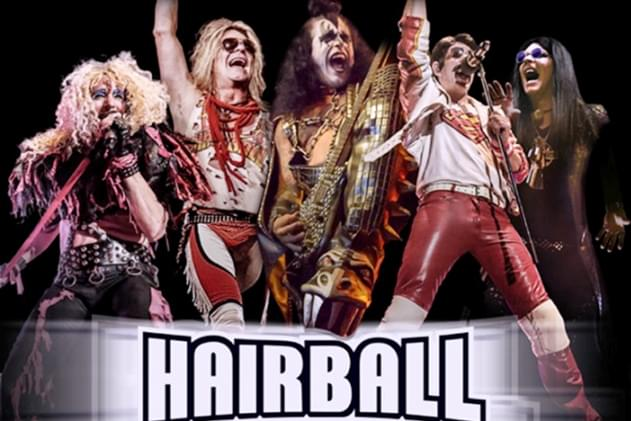 Bombastic 70's And 80's Rock Comes To Life Saturday, Hear Lead Guitarist Of Hairball Interview [AUDIO]