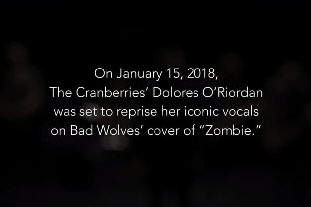 Bad Wolves Give To Dolores O'Riordan's Children [VIDEO]