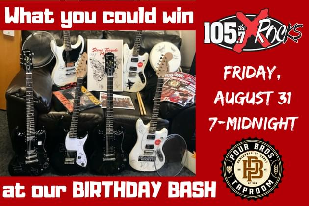 105.7 The X Is Turning 21 And We're Throwing One Bad Ass Birthday Party