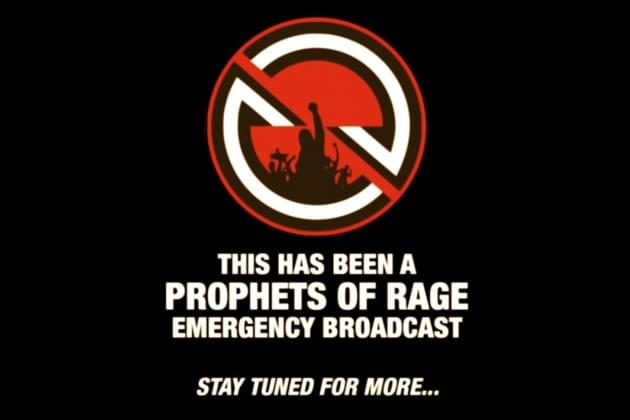Prophets Of Rage: Unreleased Track The Ballot Or The Bullet [VIDEO]