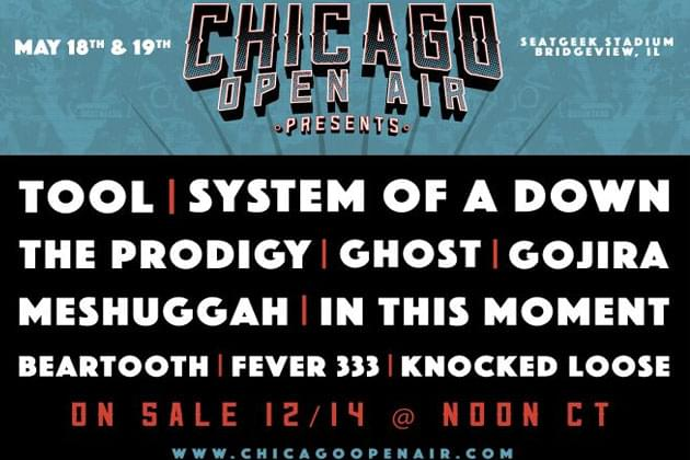 Chicago Open Air Festival Line-up And Dates Announced!