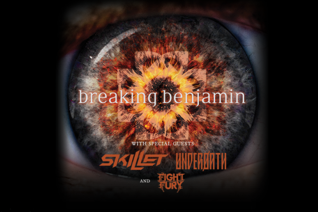 Breaking Benjamin And Skillet To Play The Taxslayer Center In Moline