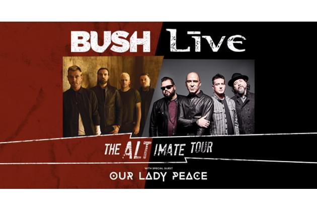 Bush & LIVE Hit The Road Together This Summer With Chicago Date