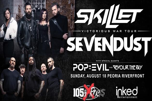 Get Your Sonic Summer Jam Tickets For Skillet, Sevendust Available Now!