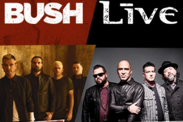 Listen & Win: Bush + Live The Alt-Imate Tour