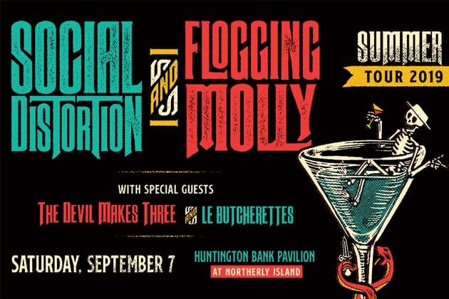 Social Distortion And Flogging Molly Set To Rock Chicago On September 7th! Pre-Sale Until Thursday Night!