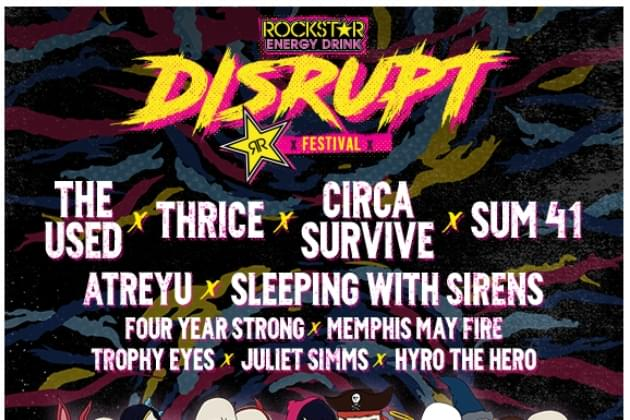 Listen & Win: Disrupt Festival Tickets