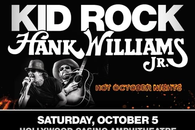 Kid Rock + Hank Williams JR. Pre-Sale Info