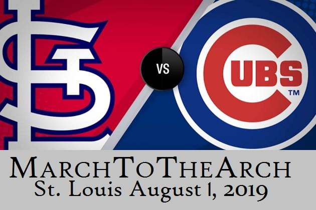 March To The Arch And Win Your Cubs vs Cards in St. Louis Tickets!