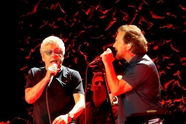The Who And Eddie Vedder [VIDEO]