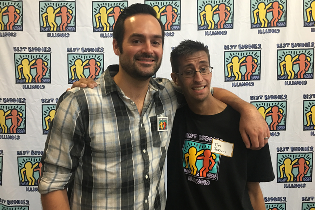 ORyan and Tim team up for Best Buddies!
